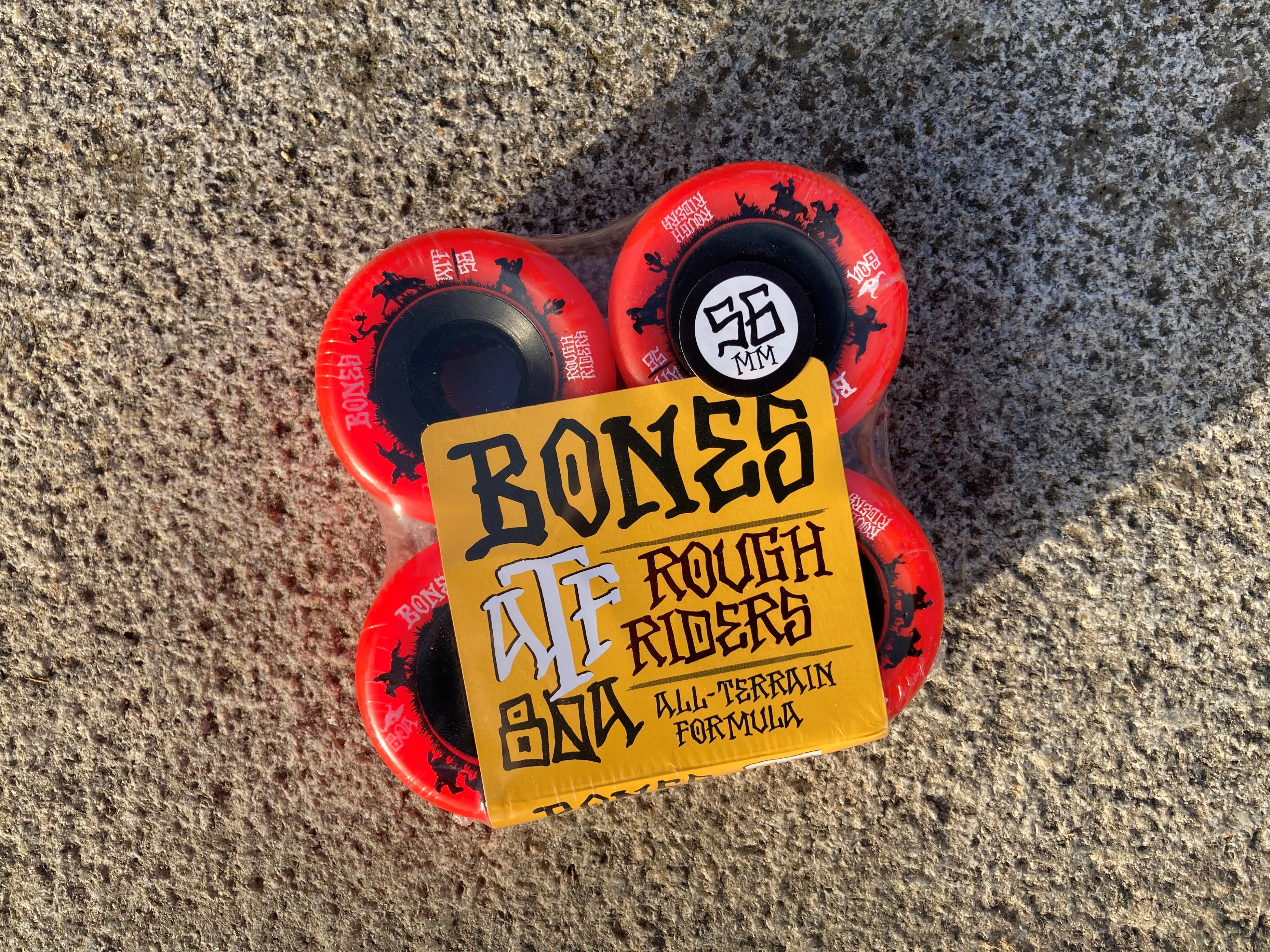 Kolečka Bones - Rough Riders ATF